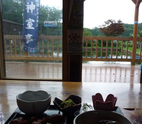 神室亭・夕食