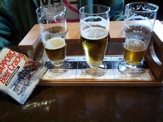 サッポロビール園にて