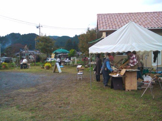 農家の青空市場